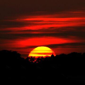 rising sun by rustycb
