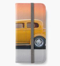 1933 Pontiac Deluxe 8 Touring Sedan 'Profile' I iPhone Wallet/Case/Skin