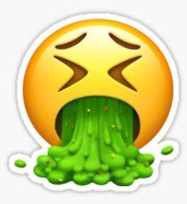 Vomit Emoji Sticker