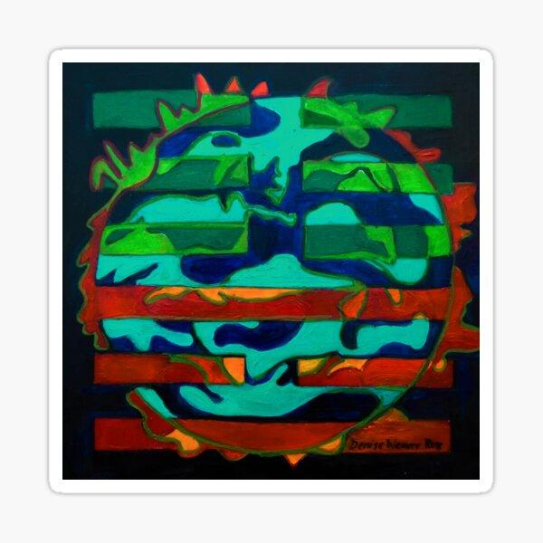 Hexagram 36 – Míng Yí (Brightness Hiding) Sticker