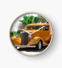1933 Pontiac Deluxe 8 Touring Sedan Ia Clock