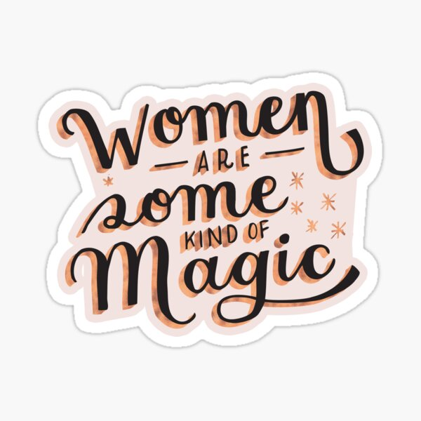 Women are Some Kind of Magic - The Princess Saves Herself in This One Sticker