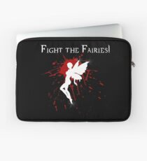Supernatural Fight the Fairies v2.0 Laptop Sleeve