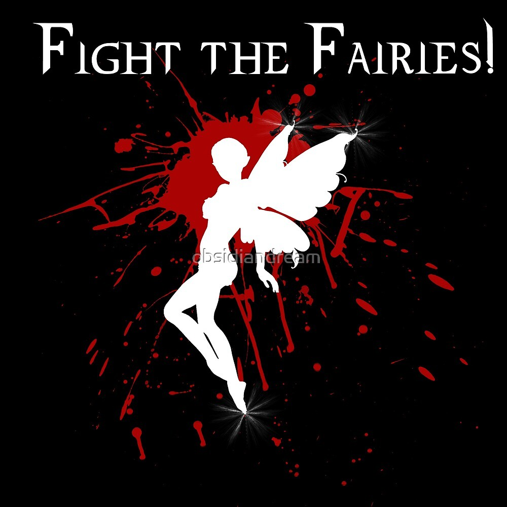 Supernatural Fight the Fairies v2.0 by obsidiandream
