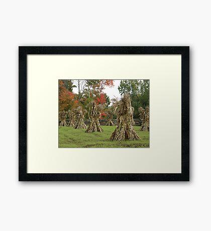 The Cornstalk Warriors Framed Print