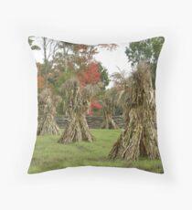 The Cornstalk Warriors Throw Pillow