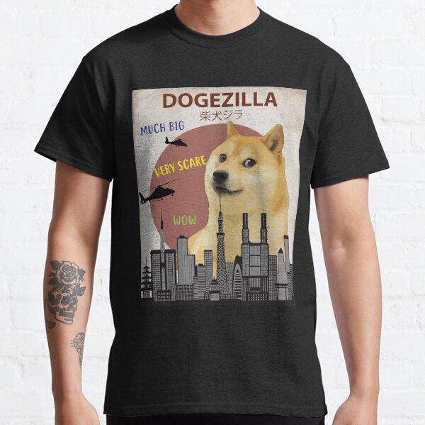 Dogezilla - Funny Doge Meme Giant Shiba Inu Classic T-Shirt