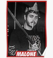 POST MALONE Poster