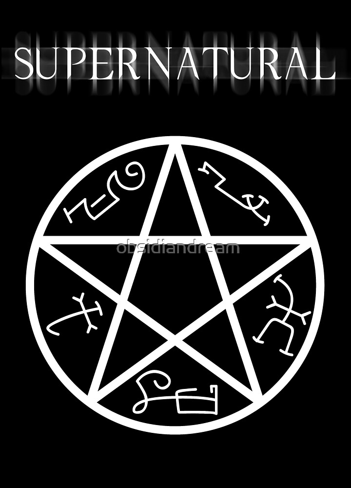 Supernatural Devil's Trap by obsidiandream