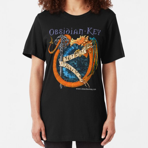 Obsidian Key - SLY Dragon - Progressive Rock Metal Music - Epic Style - (Branded) Slim Fit T-Shirt
