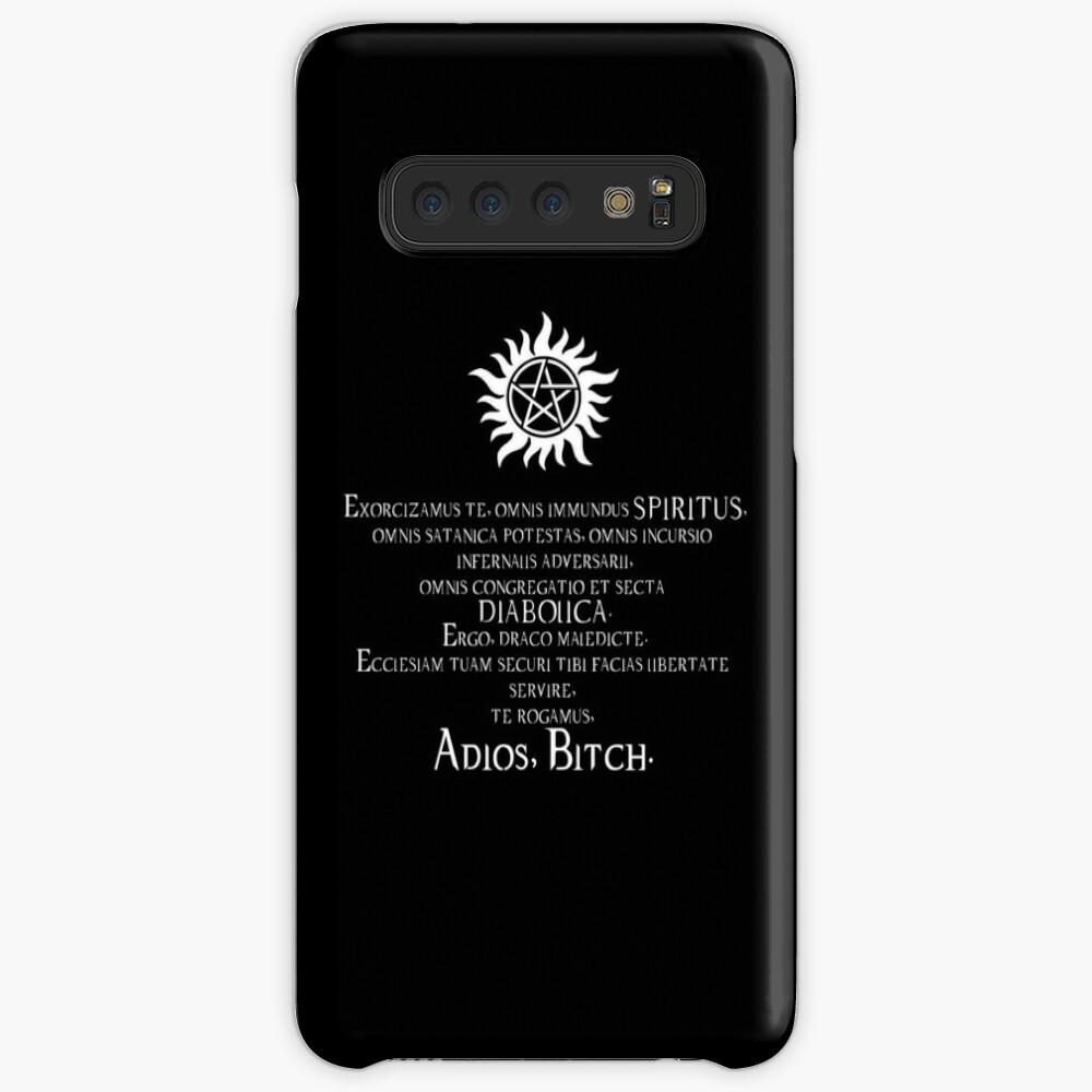 Supernatural Adios Bitch Exorcism Case & Skin for Samsung Galaxy