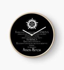 Supernatural Adios Bitch Exorcism Clock