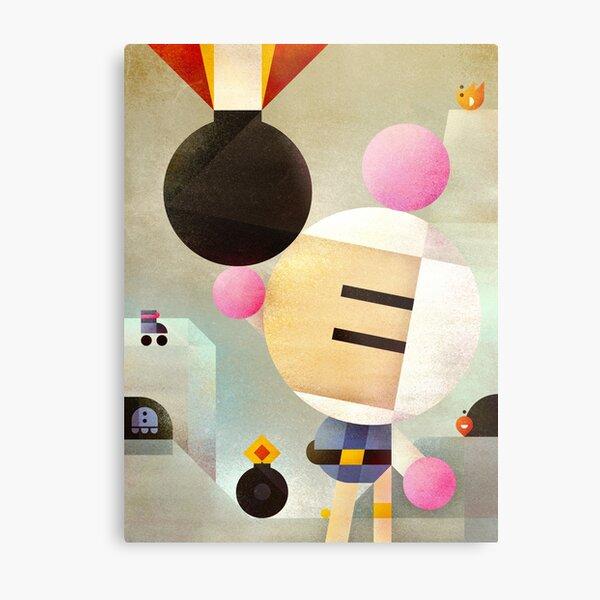 Bomberman remixed Metal Print