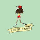 Forrest Gump - I just felt like running by agrapedesign