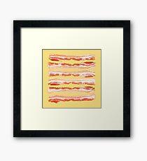 Bacon, Raw Framed Print