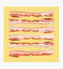 Bacon, Raw Photographic Print