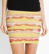 Bacon, Raw Mini Skirt