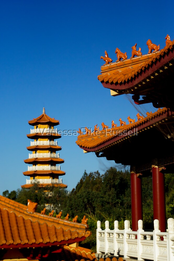 Nan Tien Buddhist Temple by Vanessa Pike-Russell