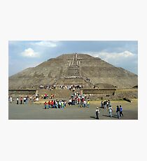Teotihuacan ruins, Mexico Photographic Print