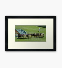 One for All and All for One Framed Print