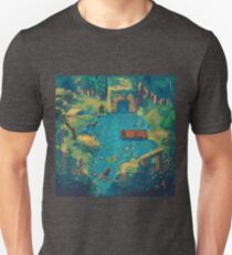 Bearly Exciting Fishing Championship Boty Deluxe T-Shirt