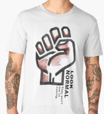 Look Normal Fist Men's Premium T-Shirt