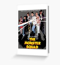 Squad Ghouls  Greeting Card