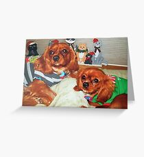 Zak and Zoe Christmas  Greeting Card