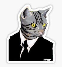 catMAN!!!!!  Sticker