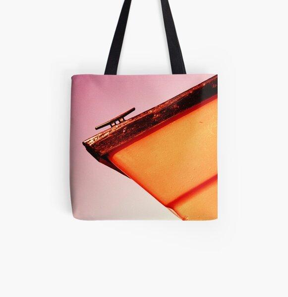 Whitstable Beach Abstract - UK577/13 - www.lizgarnett.com All Over Print Tote Bag
