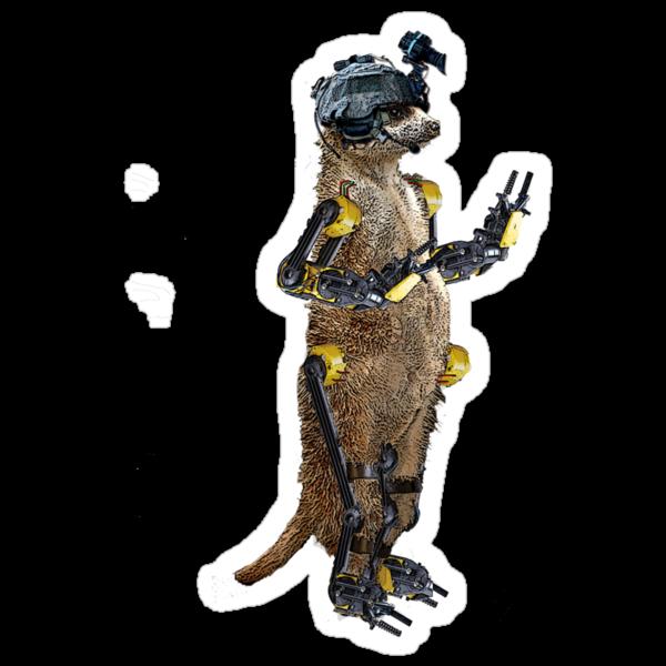 The 6 Million Dollar Meerkat by Malkman