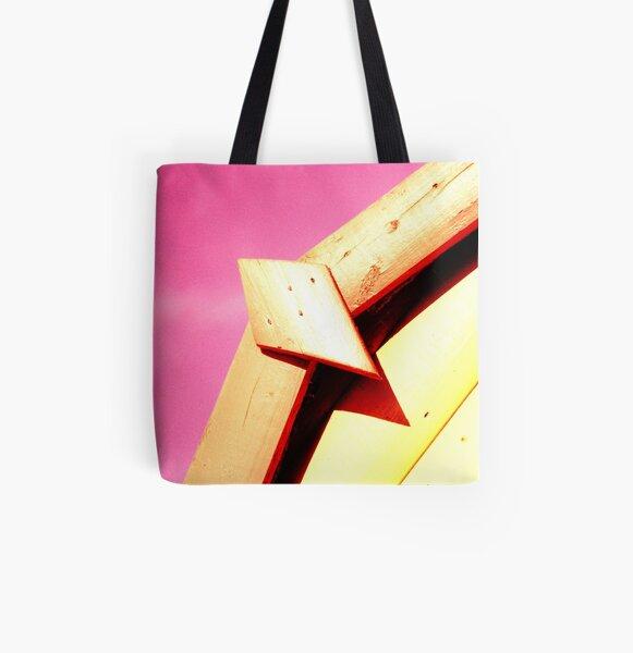 Whitstable Beach Abstract - UK577/37 - www.lizgarnett.com All Over Print Tote Bag