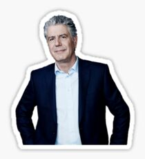 Anthony Bourdain Parts Unknown No Reservations Food Travel Sticker