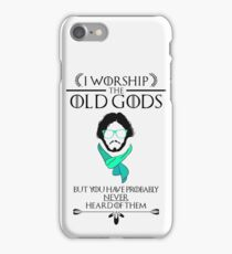 Hipster Jon Snow - Game of Thrones T-Shirt iPhone Case/Skin