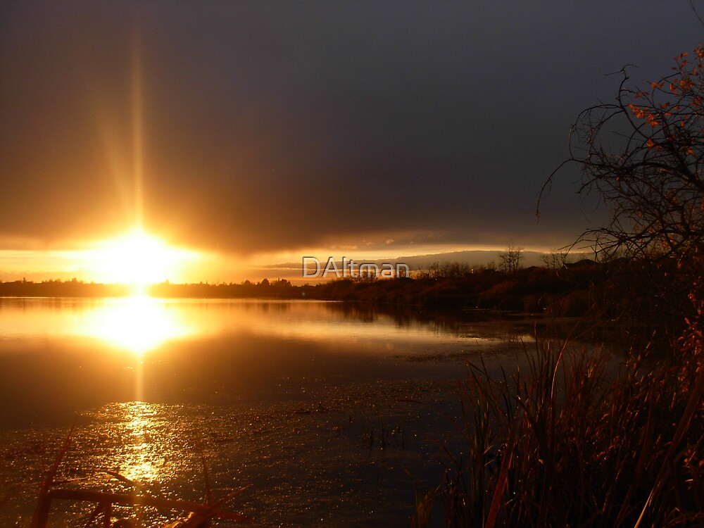 Crystal Lake Sunset by DAltman