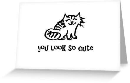 Greetings - You Look So Cute ♥ by ColeoStudio