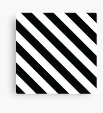 Off-White Striped Phone Case Canvas Print