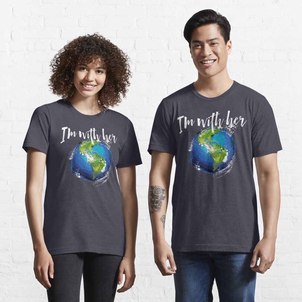 I'm With Earth Essential T-Shirt