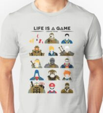 Life is a game T-shirt T-Shirt
