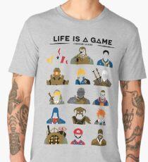 Life is a game T-shirt Men's Premium T-Shirt