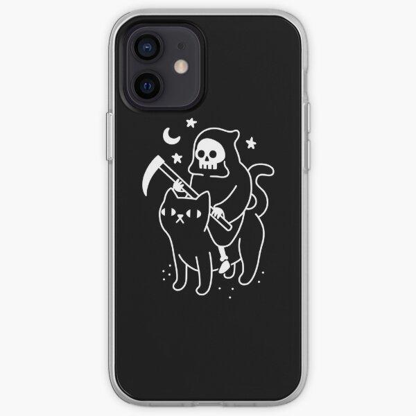 Death Rides A Black Cat iPhone Soft Case