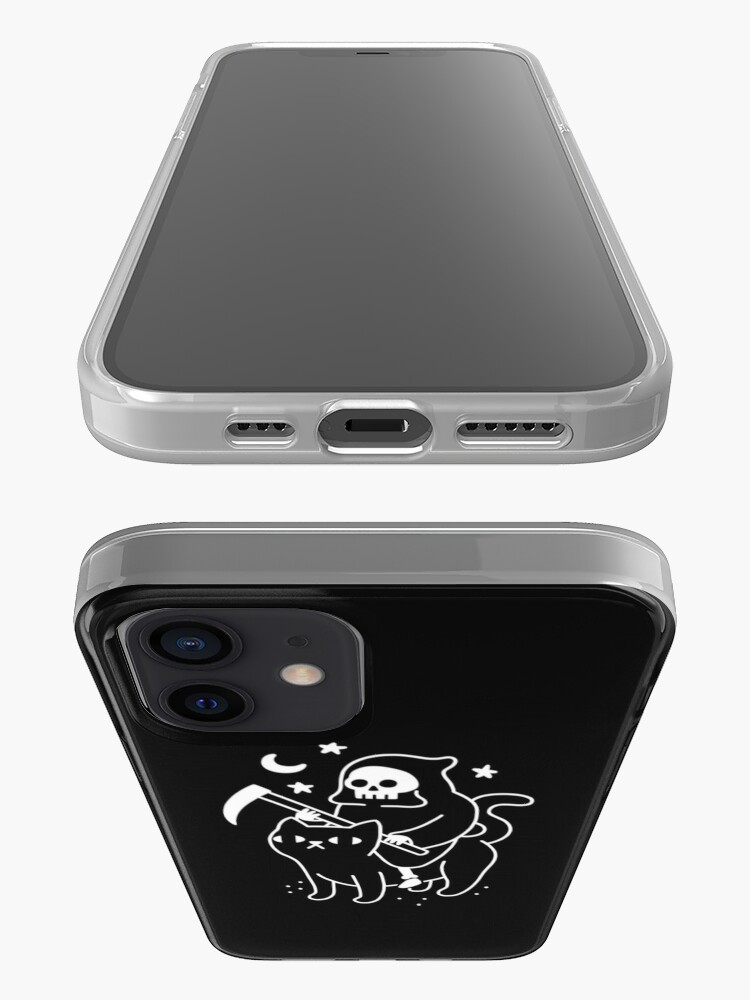 Alternate view of Death Rides A Black Cat iPhone Case & Cover