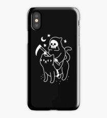 Death Rides A Black Cat iPhone Case/Skin