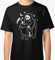Death Rides A Black Cat Classic T-Shirt