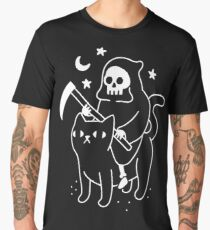 Death Rides A Black Cat Men's Premium T-Shirt