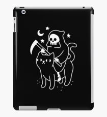 Death Rides A Black Cat iPad Case/Skin