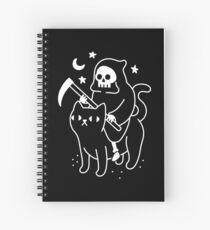Todesfahrten Eine schwarze Katze Spiralblock