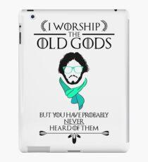Hipster Jon Snow - Game of Thrones T-Shirt iPad Case/Skin