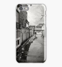 Wet Laneway iPhone Case/Skin