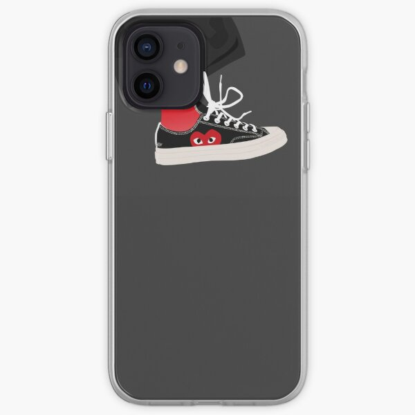 Converse x Comme des Garçons Funda blanda para iPhone